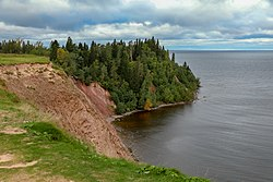 Andoma Mountains by the lake Onega in Vologda oblast 01.jpg