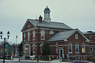 Memorial Hall Library - Image: Andover MA Memorial Hall Library