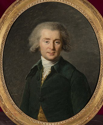 Andre Gretry, the most famous composer of opera comique before the French Revolution Andre Ernest Modeste Gretry.jpg