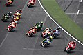 Andrea Dovizioso leads the pack 2014 Indianapolis 2.jpeg