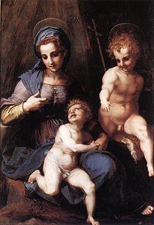 Madonna col Bambino e san Giovannino (1515 circa), Roma, Galleria Borghese