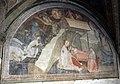 Andrea orcagna e aiuti, cappella dell'annunciazione, 1340-47, 01 natività e annuncio ai pastori.JPG