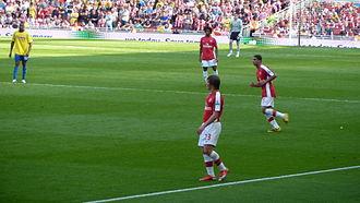 Andrey Arshavin - Arshavin in action for Arsenal