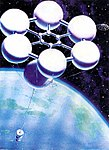 Andrei Sokolov's painting of a space elevator.jpg