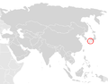 Andrias japonicus distribution.PNG