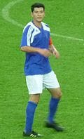 Anel Raskaj Kosovo National Team 2010.jpg