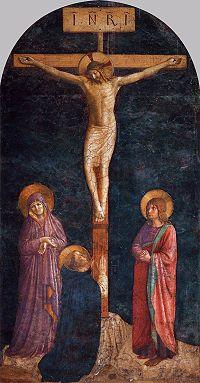 Angelico, crocefissione con san domenico, louvre.jpg
