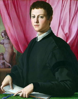 Bronzino - Portrait of a Young Man, c. 1550–55, London, National Gallery