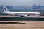 """Anglo Cargo Boeing 707-338C G-BDEA """"The Capt Keith Hooper"""" (22454280762).jpg"""