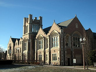 Anheuser Busch Hall, home to the School of Law