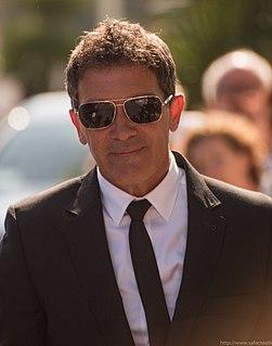 Antonio Banderas Spanish actor