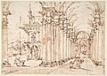 Architectural Capriccio- Vaulted Colonnade of a Palace MET DP810126.jpg