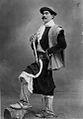 Archivo General de la Nación Argentina sin fecha Buenos Aires. Javier Raposi domador de General Alvear, en traje de gaucho, con chiripá, calzoncillos cribados y botas de potro.jpg