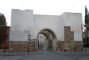 "Kingdom of the Algarve - The Arch of Rest in Faro, where Afonso III of Portugal legendarily rested after the ""end of the Reconquista""."