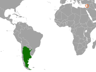 Diplomatic relations between the Argentine Republic and the Lebanese Republic