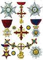 Aristide Michel Perrot - Collection historique des ordres de chevalerie civils et militaires (1820) pl. XXIV.jpg