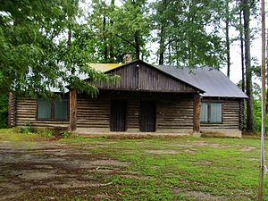 National Register of Historic Places listings in Clark County, Arkansas - Image: Arkadelphia Boy Scout Hut 002