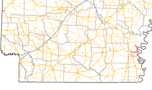 Arkansas Highway 4 - Image: Arkansas 4