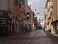 Arnhem, straatzicht de Vijzelstraat voor Giro d'Italia foto4 2016-04-17 19.09.jpg
