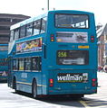 Arriva bus 7418 Volvo Olympian Northern Counties Palatine II P418 CCU in Newcastle 9 May 2009.jpg