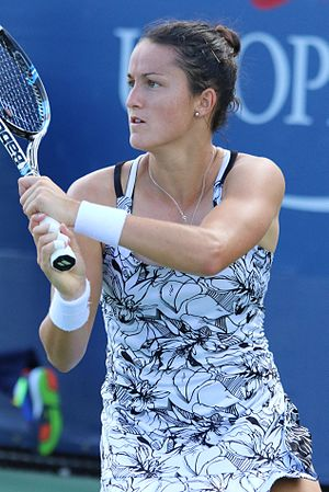 Lara Arruabarrena - Arruabarrena at the 2016 US Open