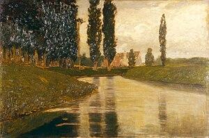 Pietro Fragiacomo - Armonie verdi, 1920 ca. (Fondazione Cariplo)