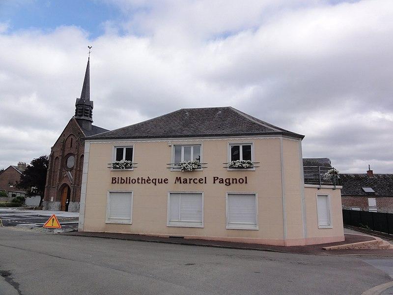 Assevent_(Nord,_Fr)_bibliothèque