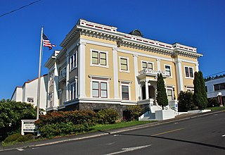 Astoria City Hall (old) historic building in Astoria, Oregon, USA