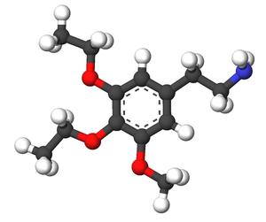 Asymbescaline - Image: Asymbescaline 3d sticks