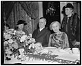 At luncheon to English peace advocate. Washington, D.C., Jan. 9. Mrs. Roosevelt was among the distinguished guests to attend the luncheon today in honor of Dr. Maude Royden, Preacher, LCCN2016871105.jpg