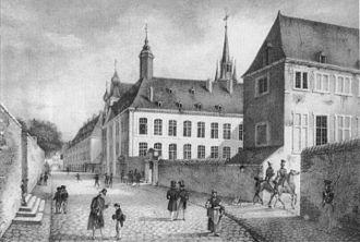 Athénée de Luxembourg - The Athénée de Luxembourg in 1828