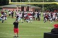Atlanta Falcons training camp July 2016 IMG 7909.jpg