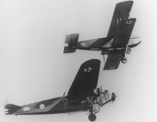 Early experimental aerial refueling aircraft