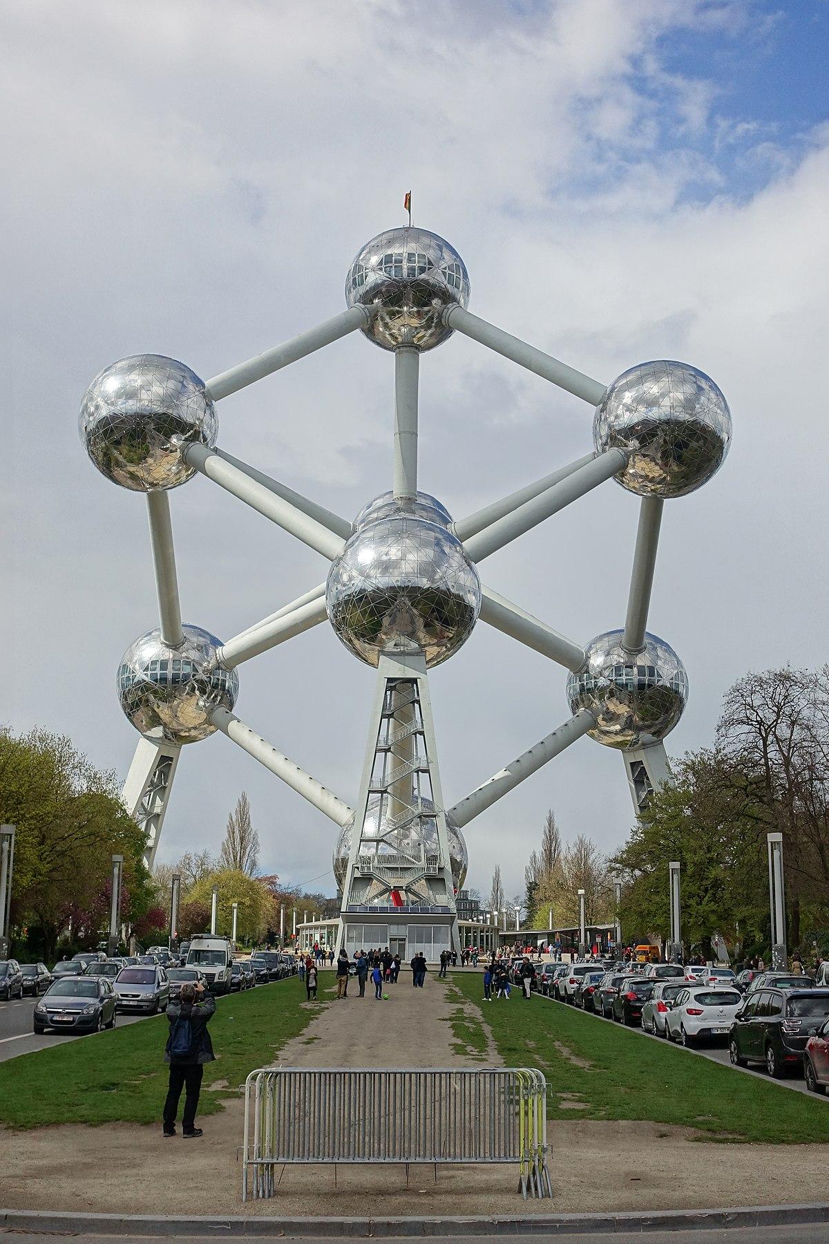 Atomium - Wikipedia, a enciclopedia libre
