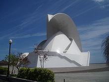Auditorio di Tenerife, Spagna