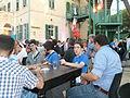 Auditorium Garden Cocktail - Wikimania 2011 P1040114.JPG