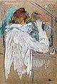 Augustins - Femme se frisant - Henri de Toulouse-Lautrec RO 619.jpg