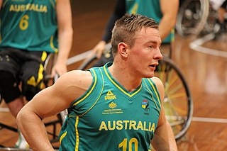 Australian male wheelchair basketball player Paralympian