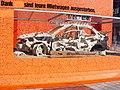 Automobil-Nachbildung zu Werbezwecken (Flughafen München).jpg