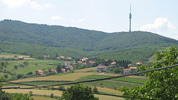View on Avala from Zuce