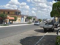 Avenida Manoel Elígio da Mota, Monte Alegre de Sergipe.JPG