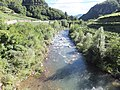Avisio river from the bridge of Cantilaga - downstream 2.jpg