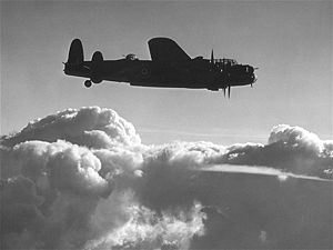 RAF Little Snoring - Image: Avro Lancaster B Mk II Ex CC