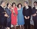 Award Winners with Mrs. Lasker, 1965-69 Nlm nlmuid-101440692.jpg