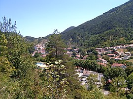 View of Axat