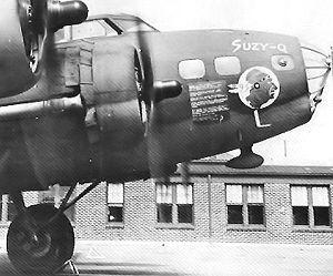 93d Bomb Squadron - Image: B 17E 41 2489 93d Bomb Squadron Suzy Q