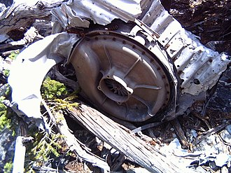 Aviation archaeology - B-17 turbocharger, crash debris