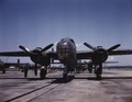 B25 Bombers on outdoor assembly line 1a35285u.tif