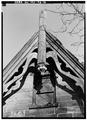 BARGEBOARDS AND GABLE END, WEST REAR - Hermitage, 335 North Franklin Turnpike, Ho-Ho-Kus, Bergen County, NJ HABS NJ,2-HOHO,1-19.tif