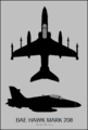 BAe Hawk Mk.208 two-view silhouette.png